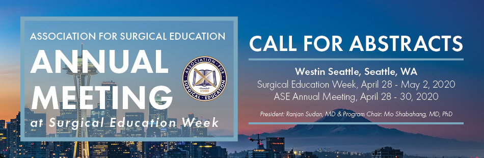 ASE Call For Abstracts
